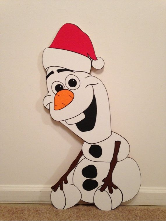 Olaf Head Christmas Clipart.