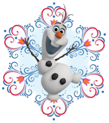 Disney Frozen Christmas Clip Art.
