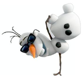 Christmas Olaf Clipart.