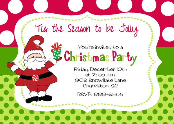 Christmas Open House Free Clipart.