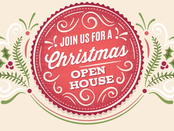 Christmas Open House at Griffin\'s Studio.