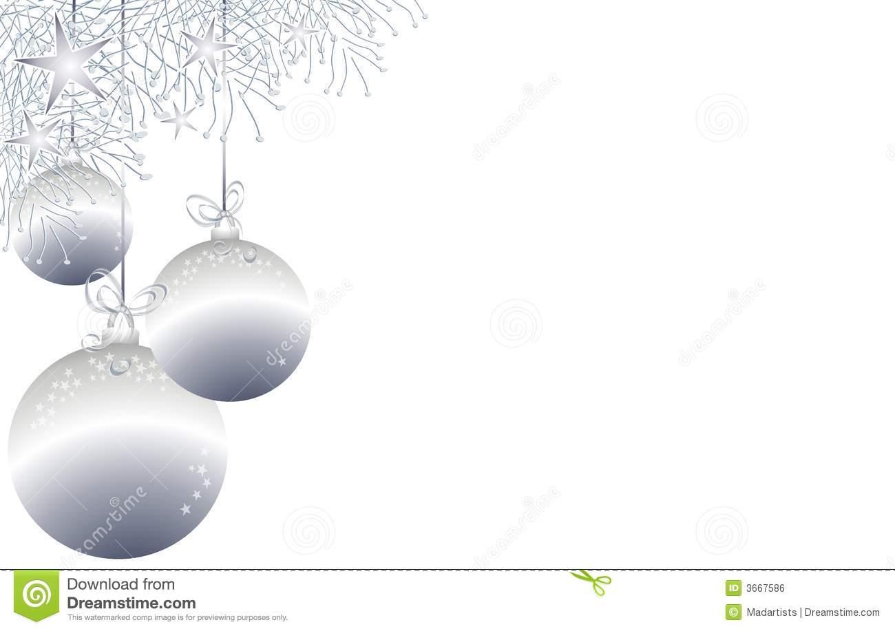 Christmas Ornaments Clipart Border Free.