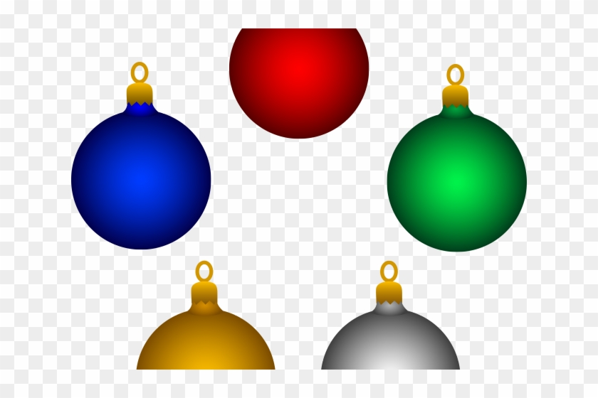 Christmas Ornaments Clipart Merry Christmas.