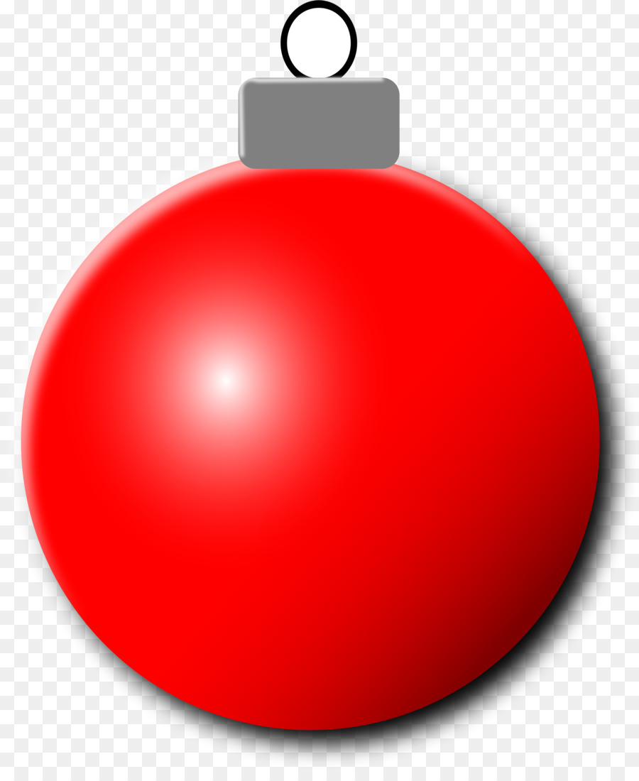 Red Christmas Ornament.
