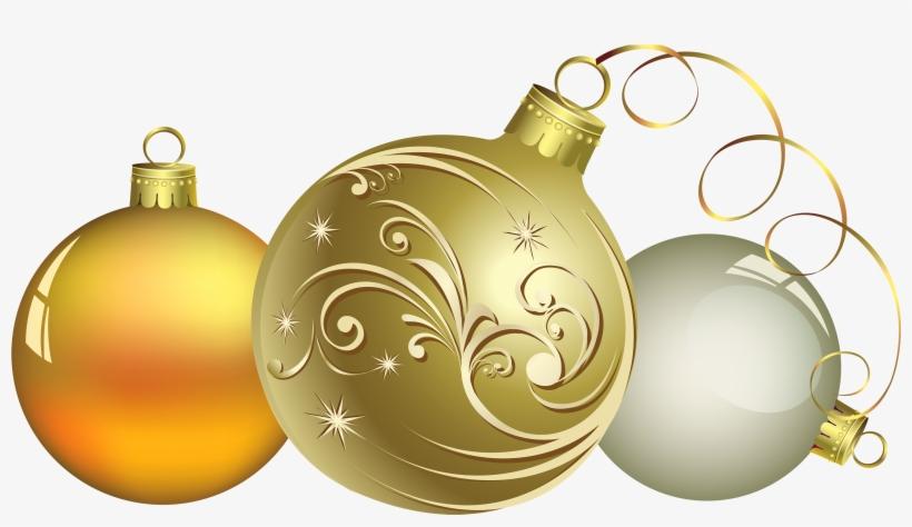 Christmas Ball Decor Png Clipart.