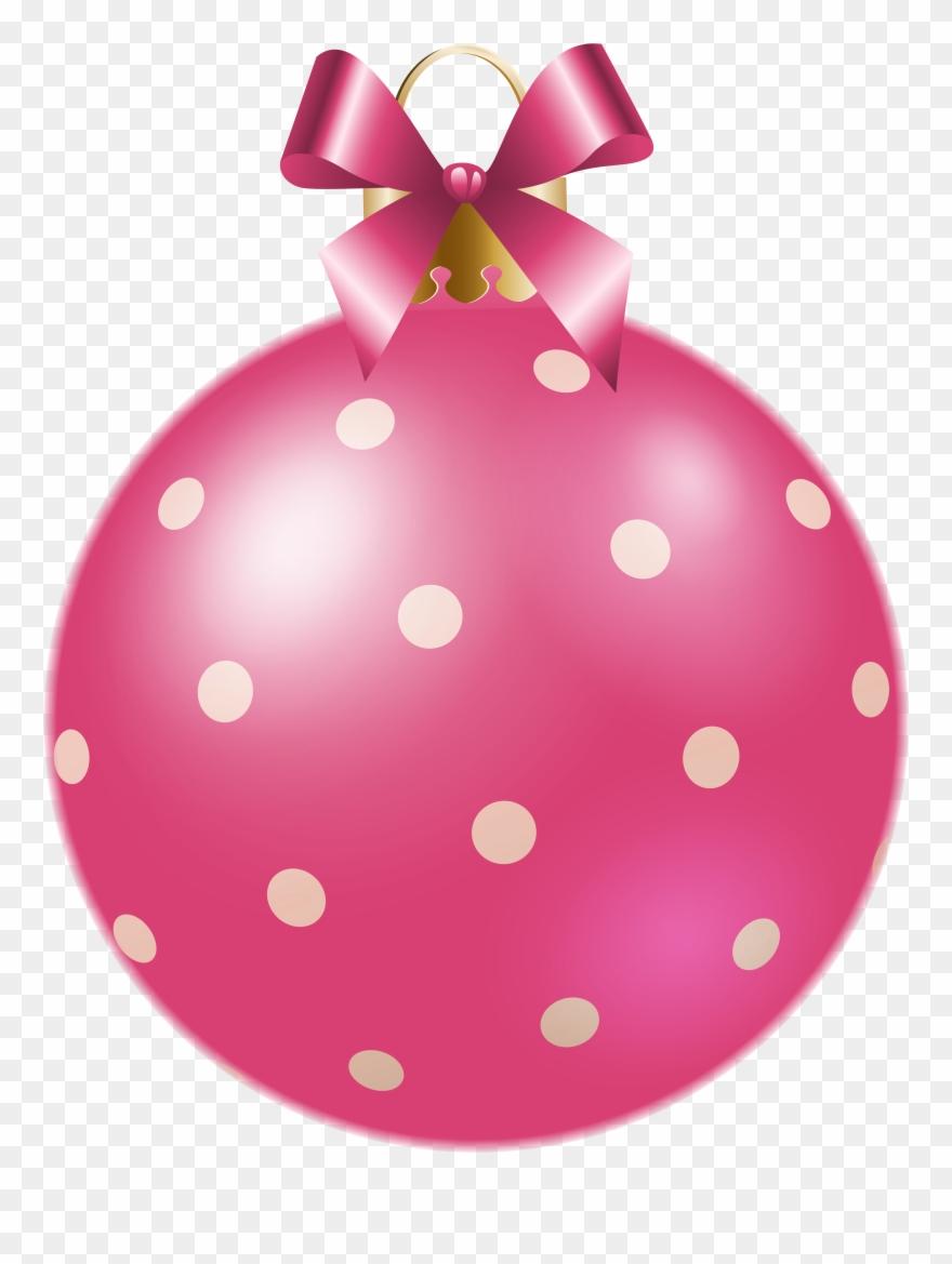 Pink Clipart Xmas.