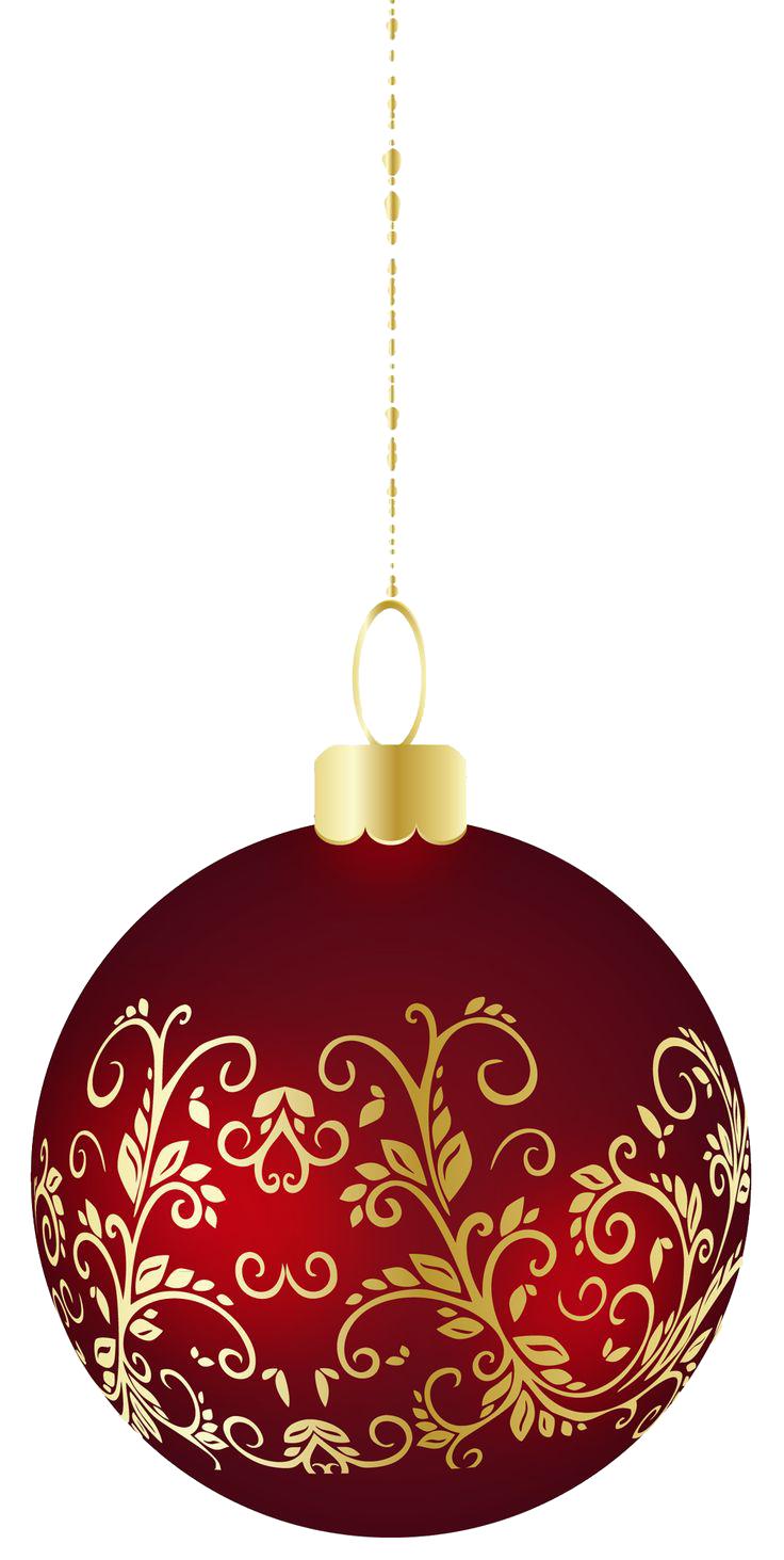 Christmas Ornament PNG Image.