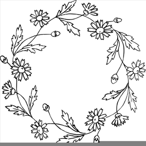 Black And White Christmas Ornament Clipart.