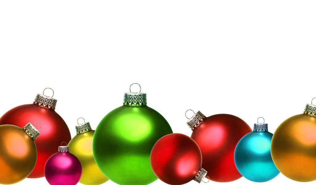 Christmas Decorations Clip Art.