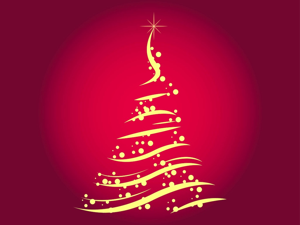 Free Christmas Tree Vector Vector Art & Graphics.