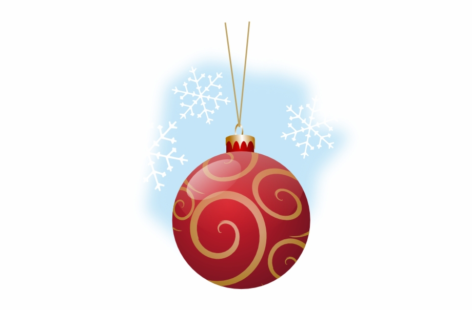 Christmas Ornaments Clipart Svg Free On Png.