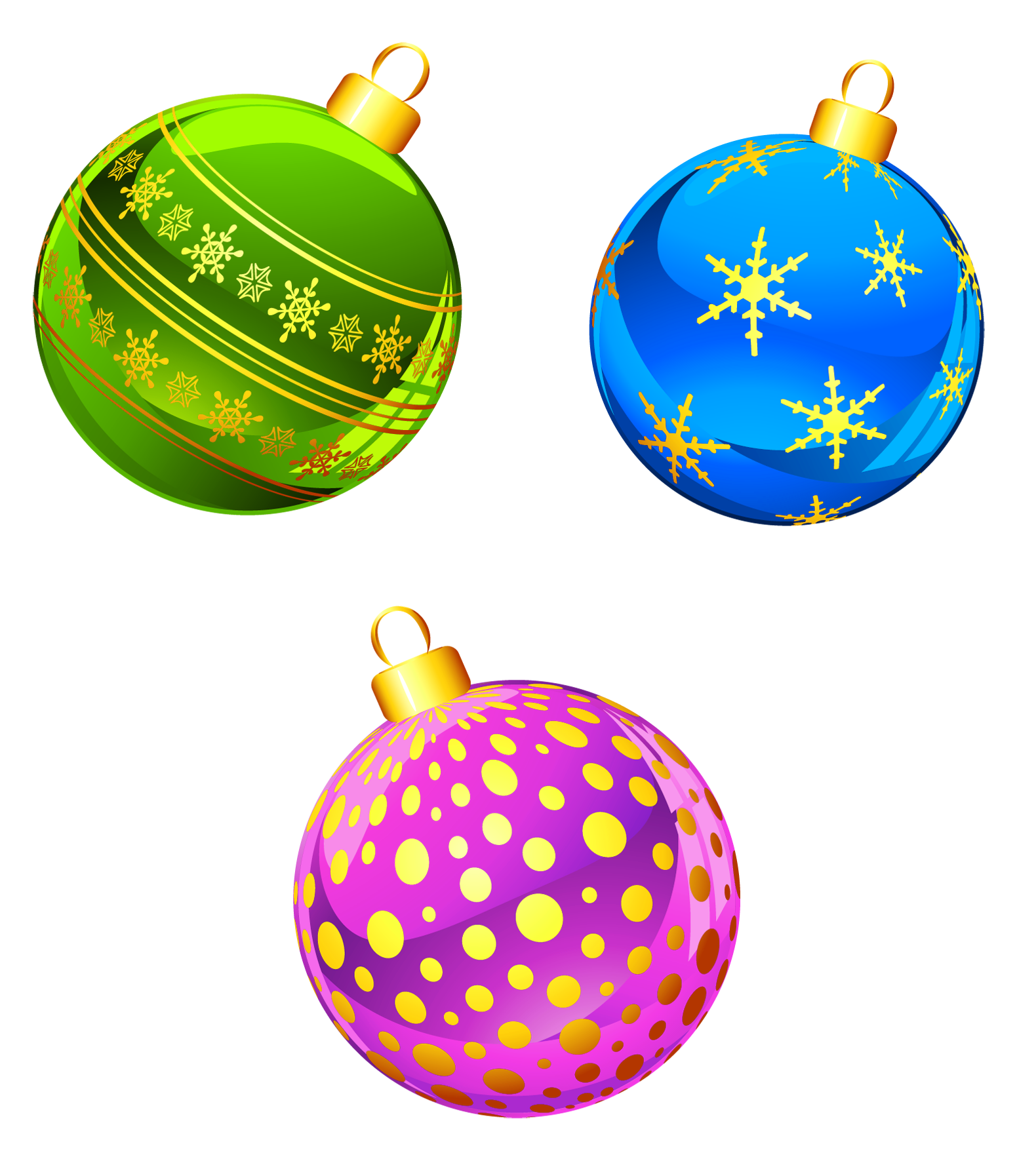 Christmas Ornament Clipart images collection for free.