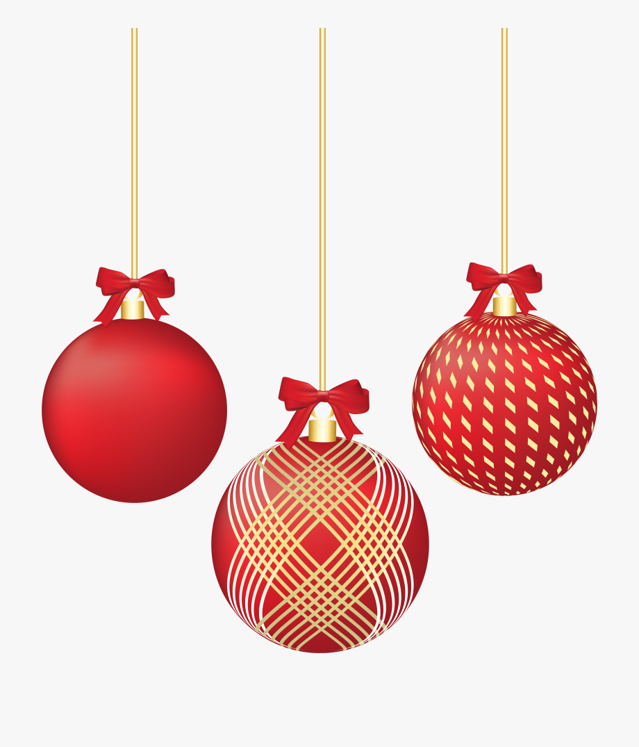 Christmas Ornaments Png.