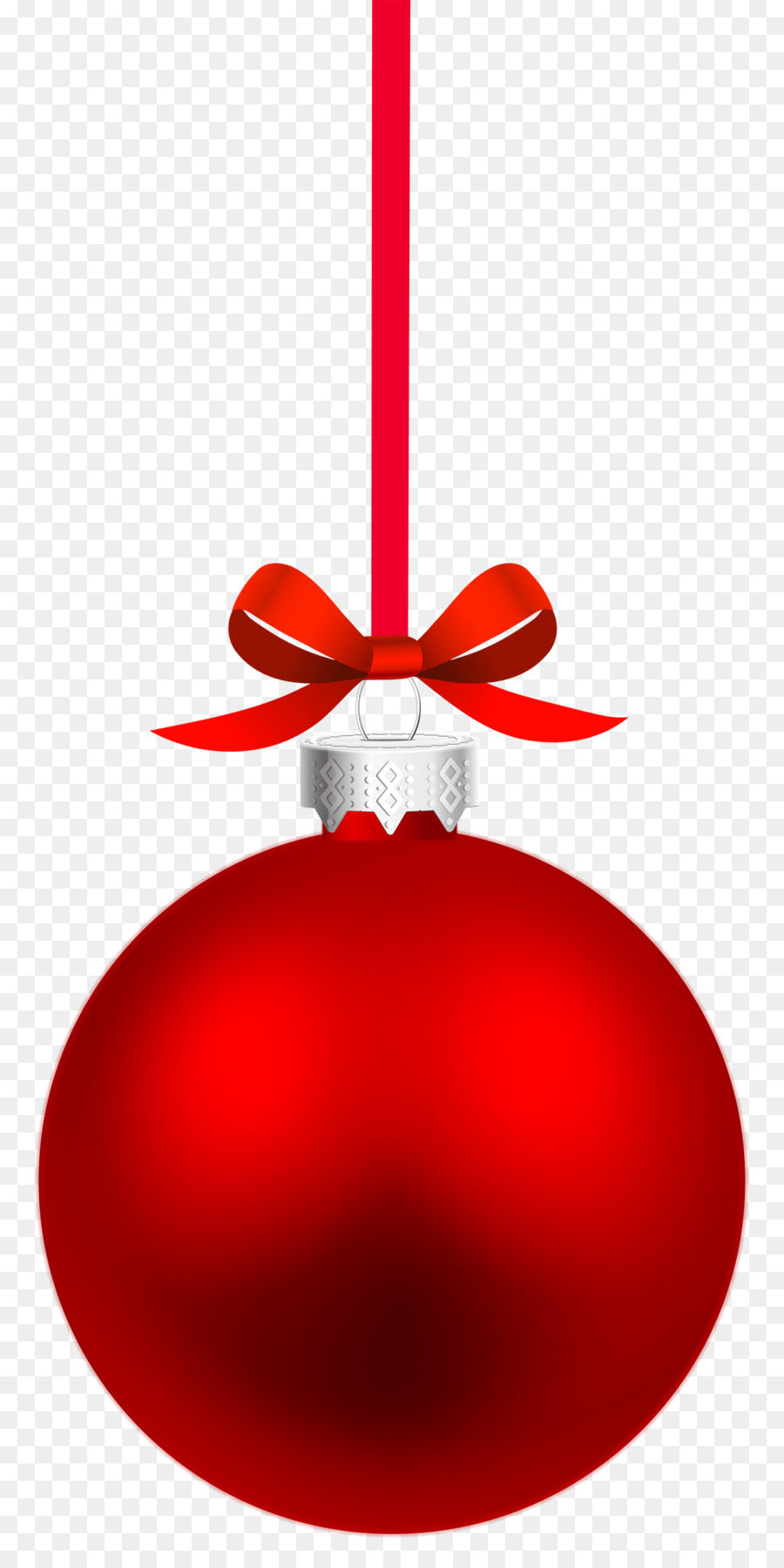 Red Christmas Tree png download.