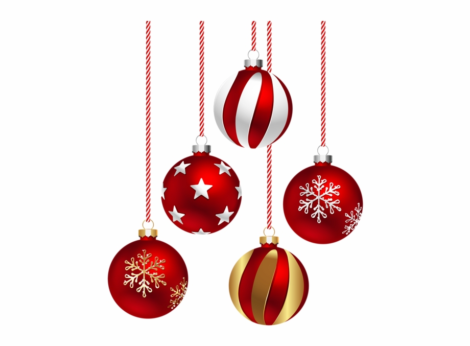 Transparent Christmas Ornament.