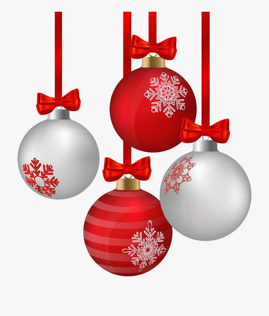 Christmas Ornaments Clip Art.