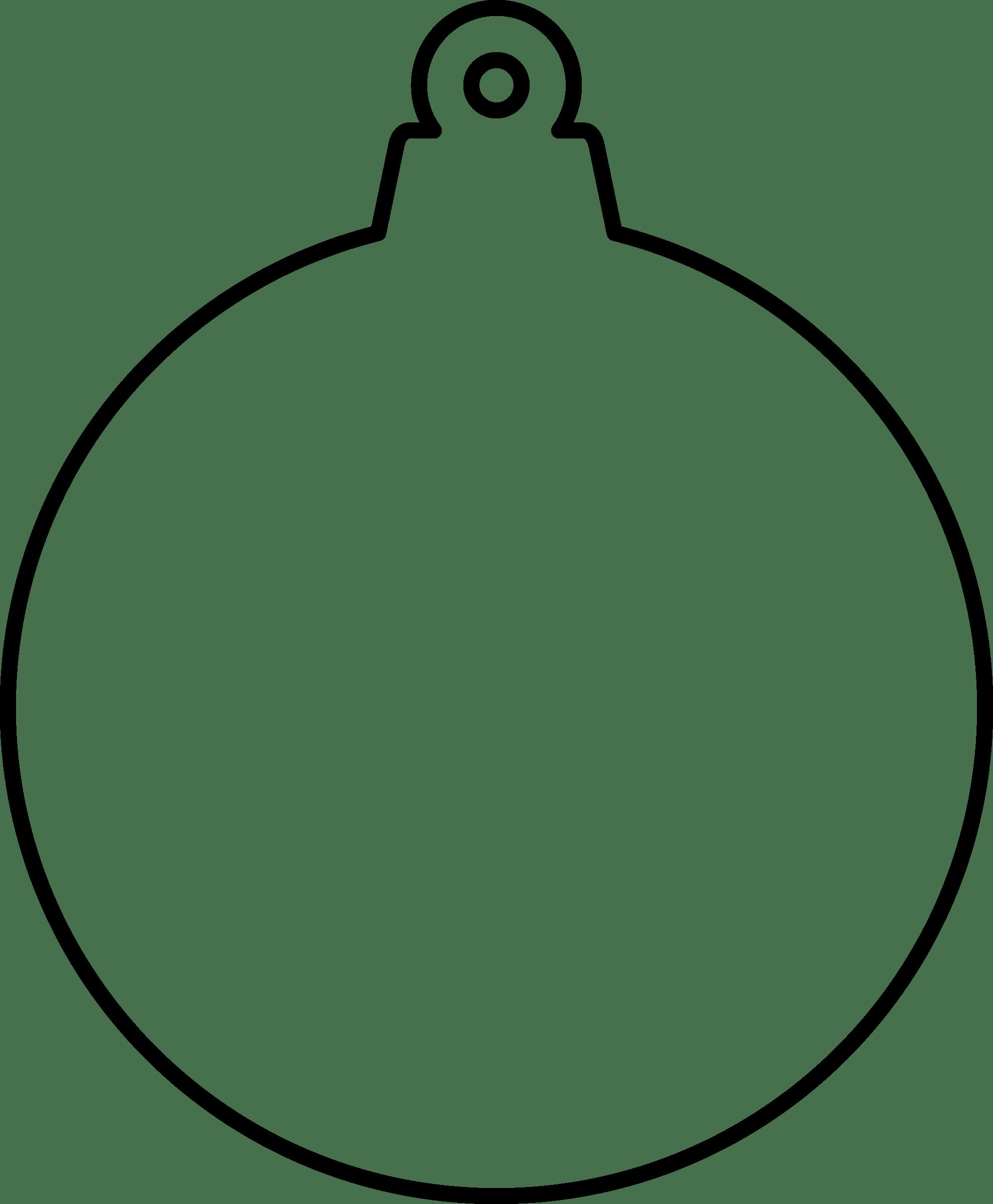 Christmas ornament outline clipart 4 » Clipart Portal.