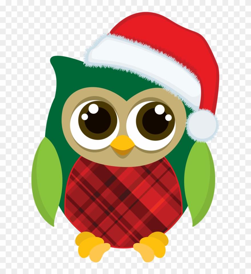 Christmas Owl Clip Art Eulen Zeichnen, Weihnachtsdekoration.