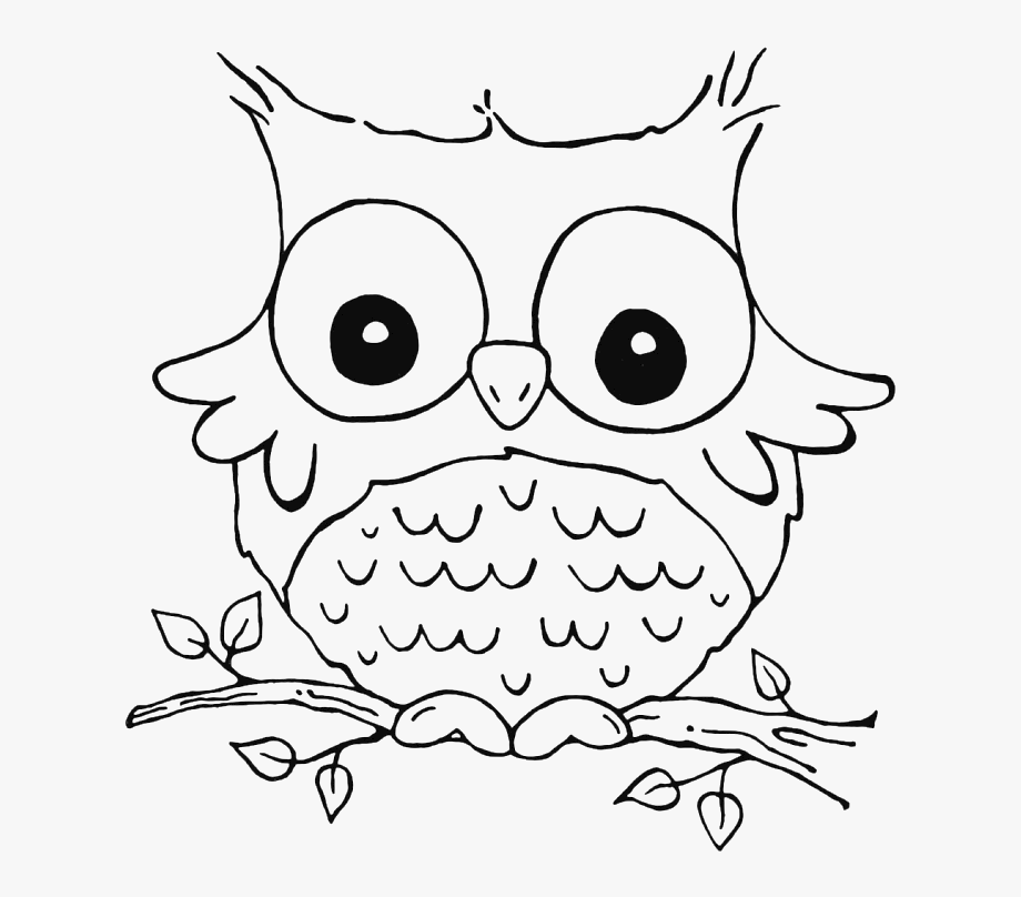 Christmas Owl Clip Art Coloring Pages.