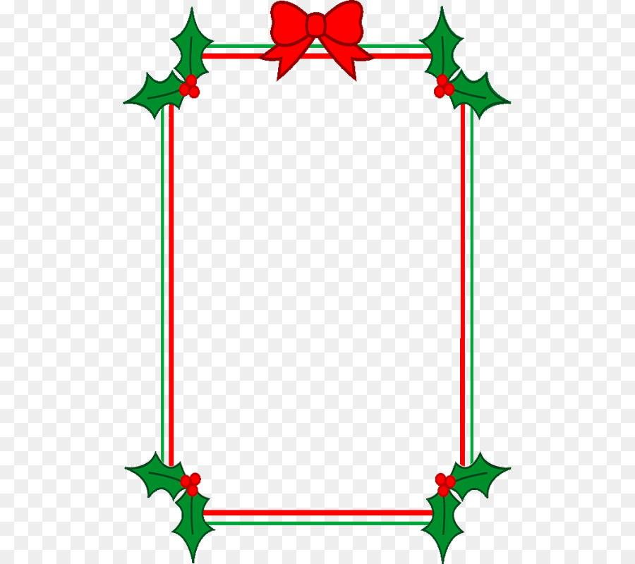 Christmas Page Border.