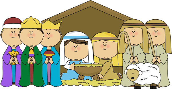 Christmas Pageant Cliparts.