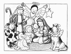 Christmas Pageant Clipart Free.