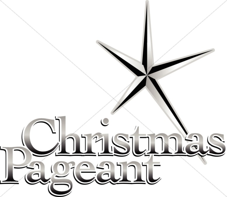 Christmas Pageant Announcement.