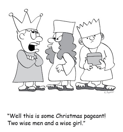 Childrens Christmas Pageant Clipart.