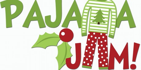 Christmas Pajama Party Clipart.