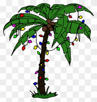 Free PNG Christmas Palm Tree Clip Art Download.