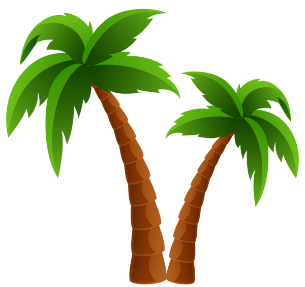 Clip Art Christmas Palm trees Openclipart California palm.