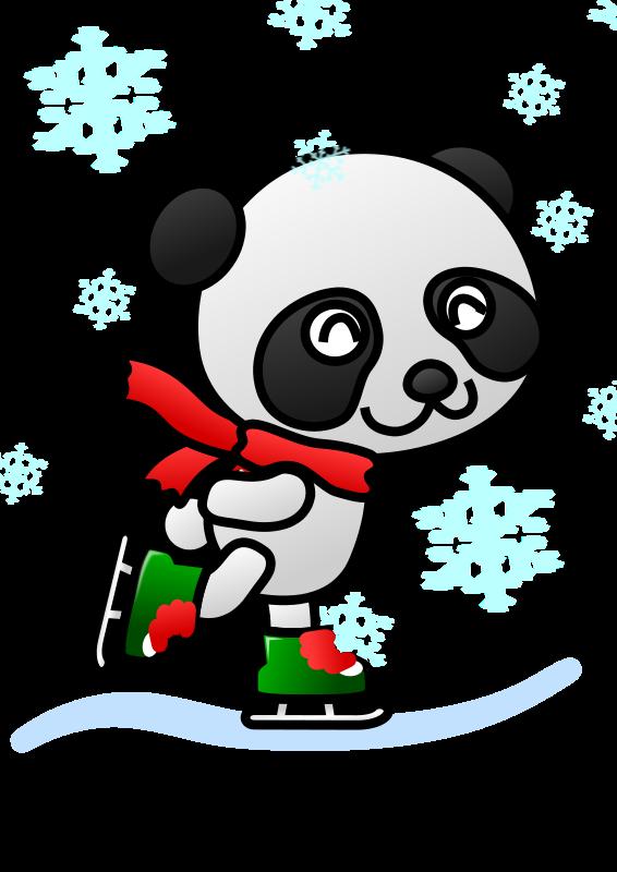 Free Christmas Panda Cliparts, Download Free Clip Art, Free Clip Art.