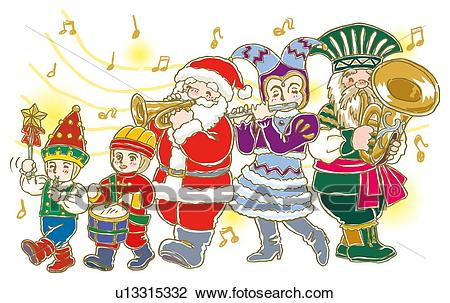 Christmas parade clipart 7 » Clipart Station.
