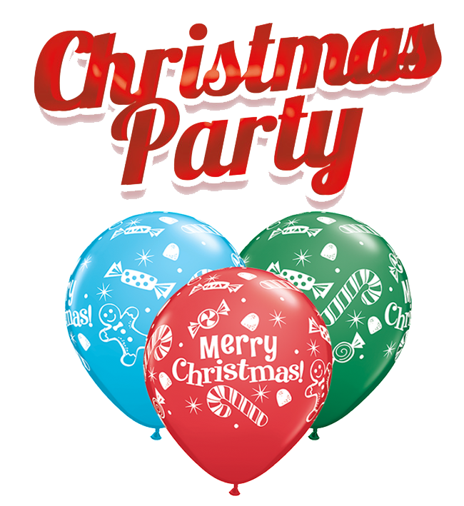 Christmas Party PNG Background.
