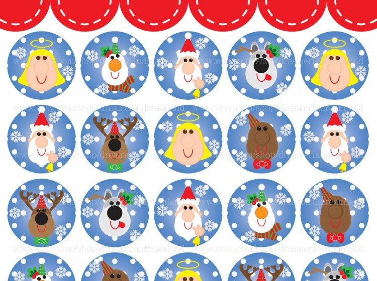 Christmas pdf clipart.