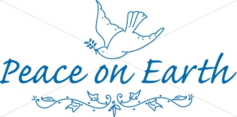 Christmas Peace Dove Clip Art (58+).
