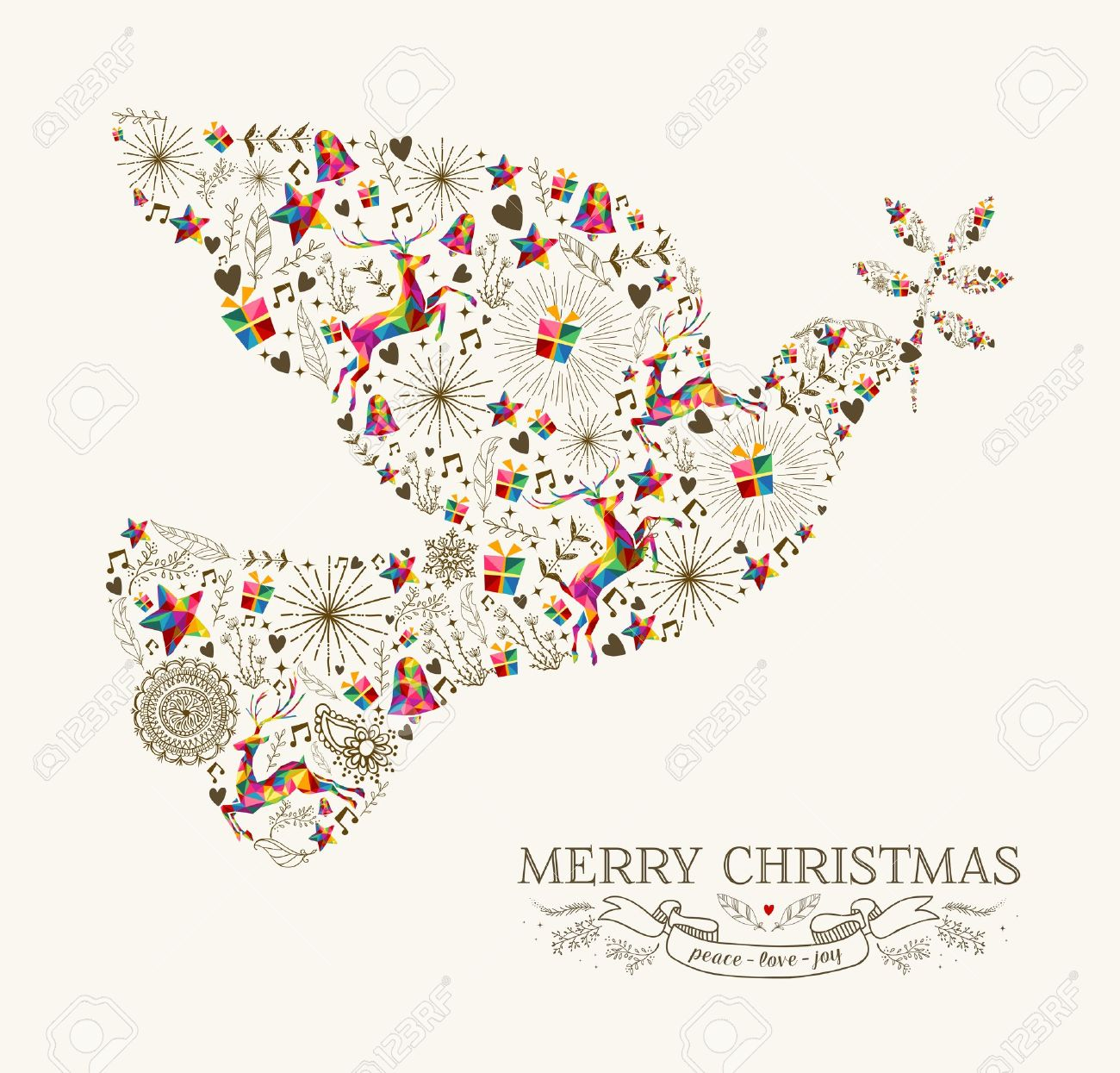 6,813 Christmas Peace Stock Vector Illustration And Royalty Free.