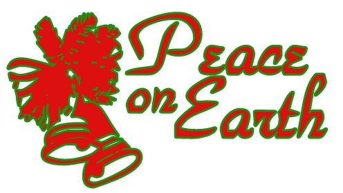 Peaceful Christmas Cliparts.
