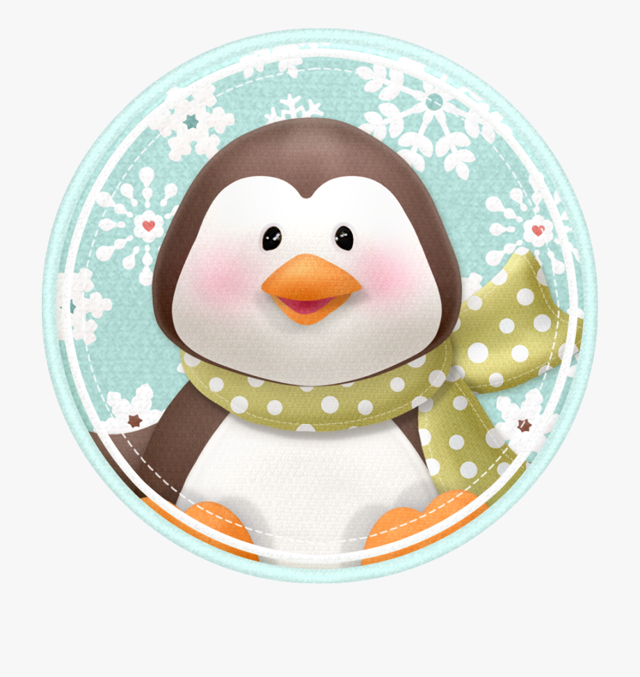 Christmas Penguin Clipart Free.