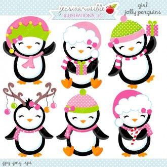 Girl Jolly Penguins.