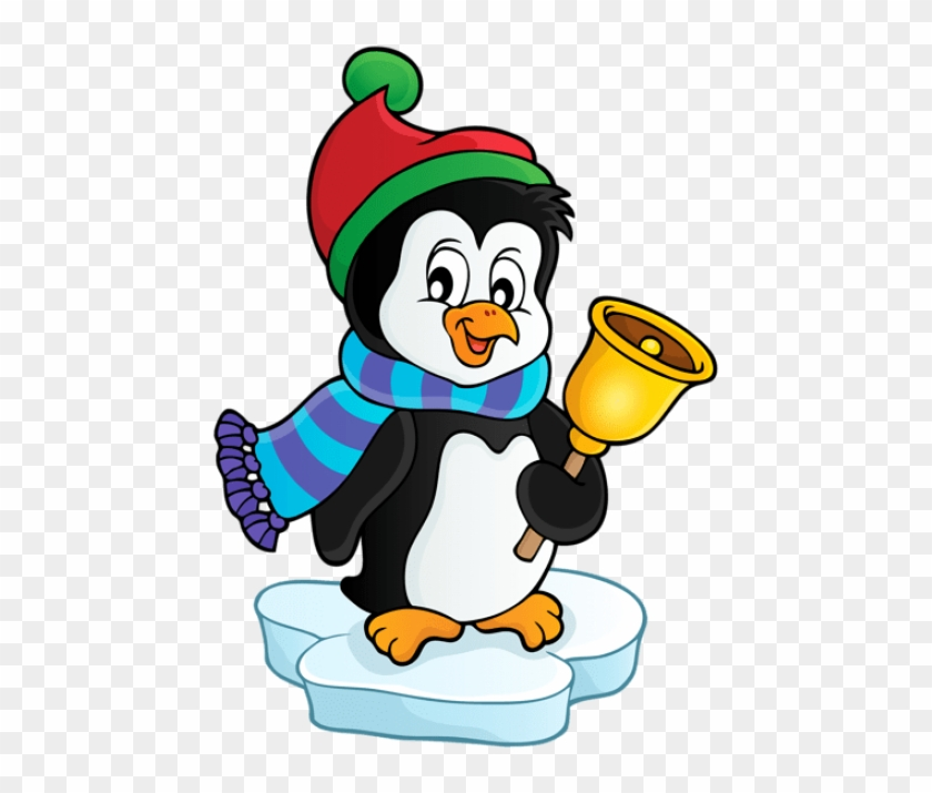 Free Png Penguin With Bell Transparent Png.