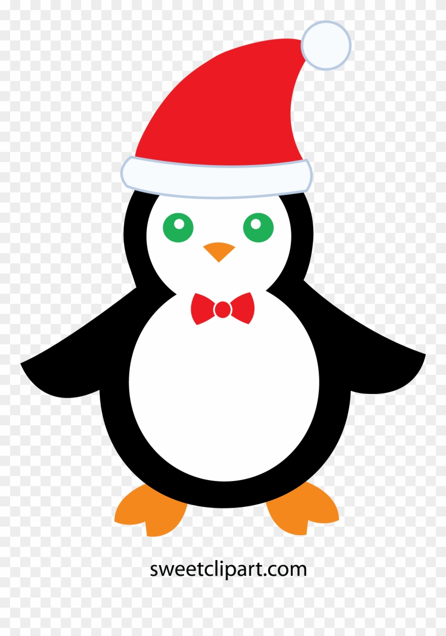 Christmas Penguin Free Clipart For Our Users.