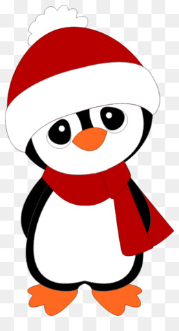 Free download Christmas Penguin Drawing png..