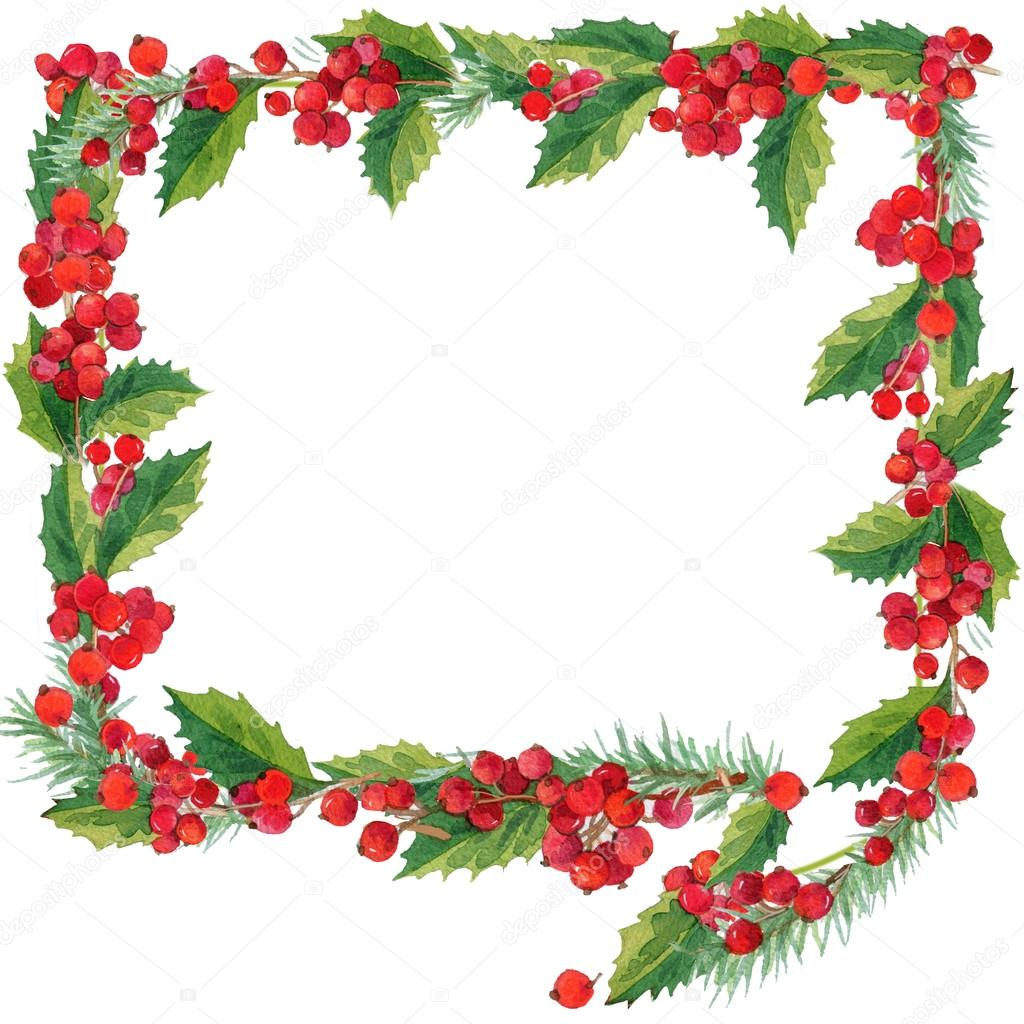 Christmas Picture Frame Clipart.