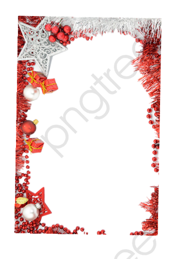 Christmas Frame Picture, Frame Clipart, Decorative Border, Christmas.