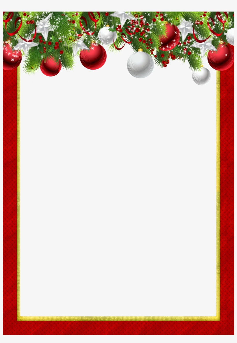 Image Royalty Free Stock Christmas Picture Frame Clipart.