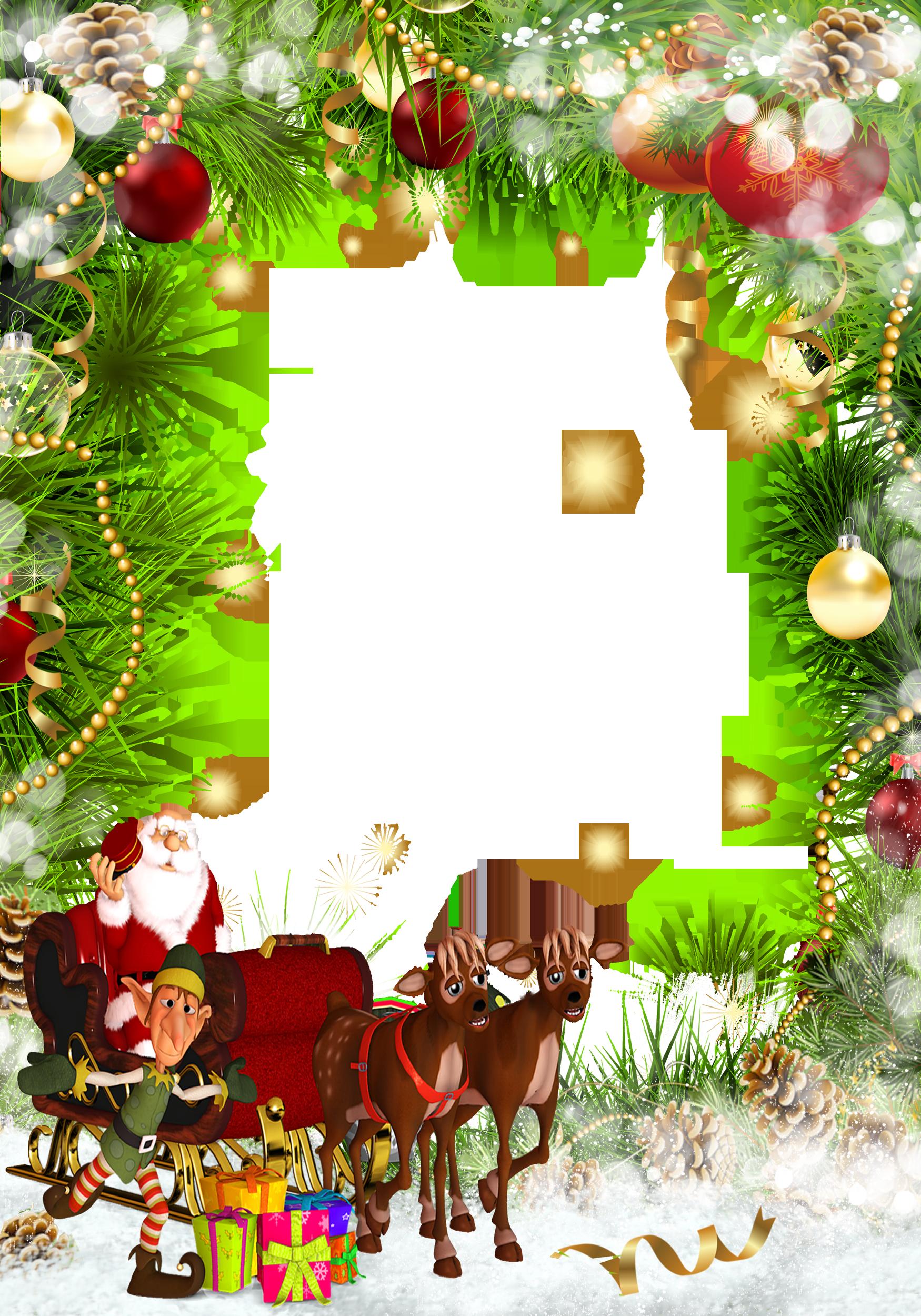 Christmas frames clipart free dowload.