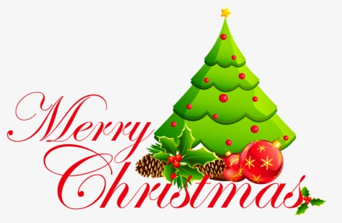 Free Merry Christmas Free Clip Art with No Background.