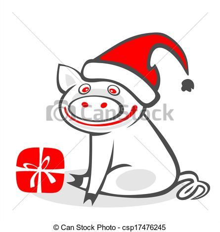 christmas pig.