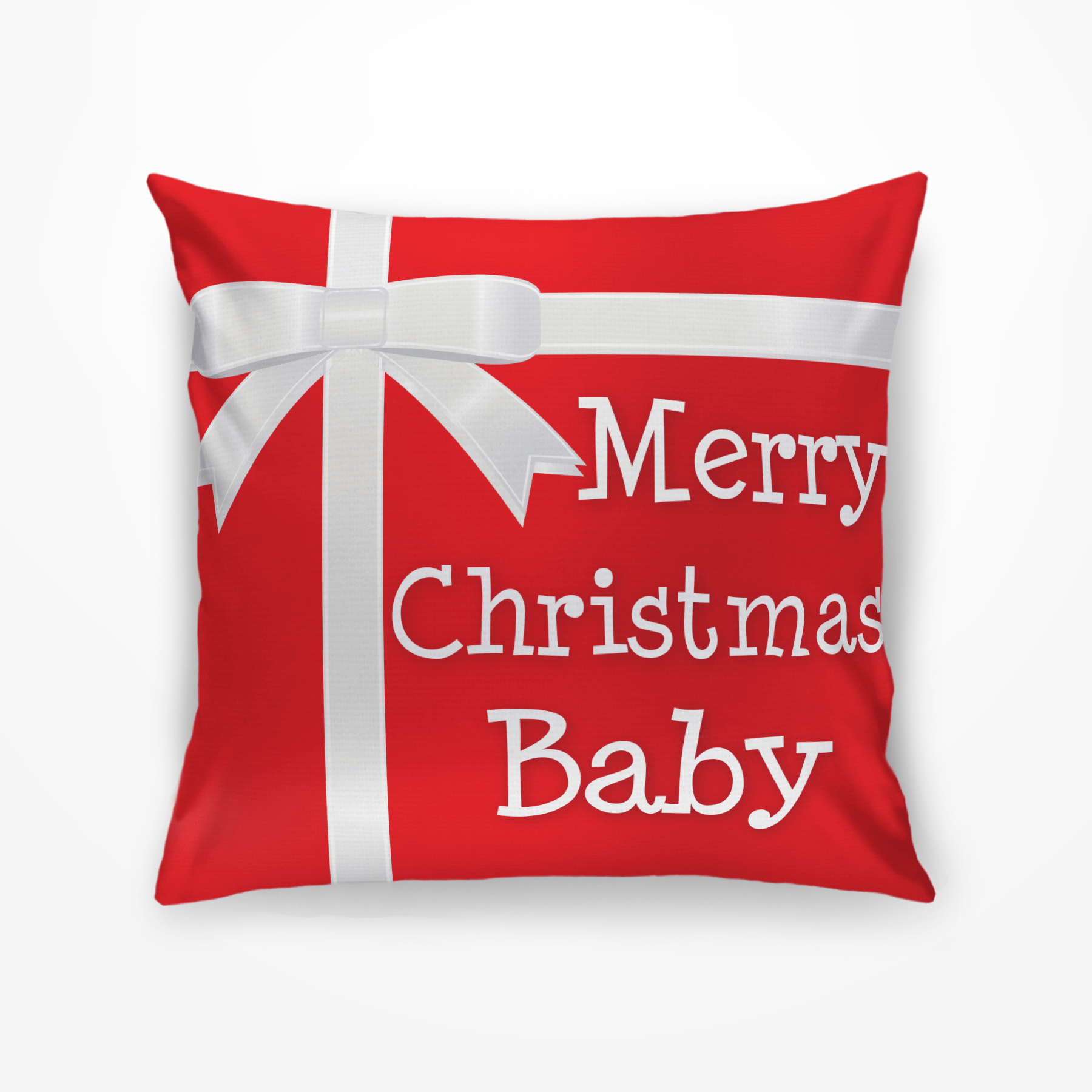 Merry Christmas Pillow.